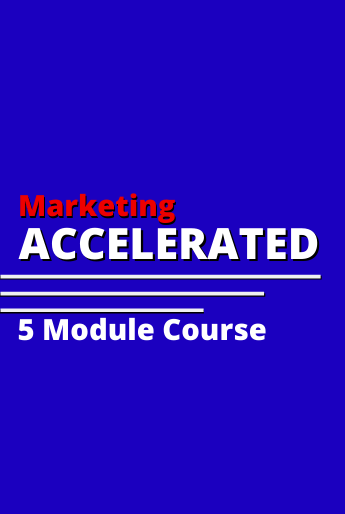 Jeff Heggie's Marketing Accelerated Course is a powerful business course that every entrepreneur and small business owner can benefit from