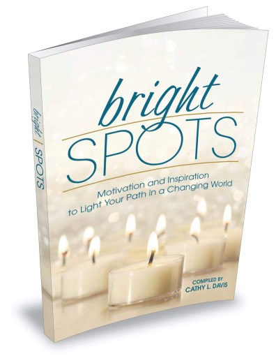 Cover of book, Bright Spots, motivation and inspiration to light your path in a changing world