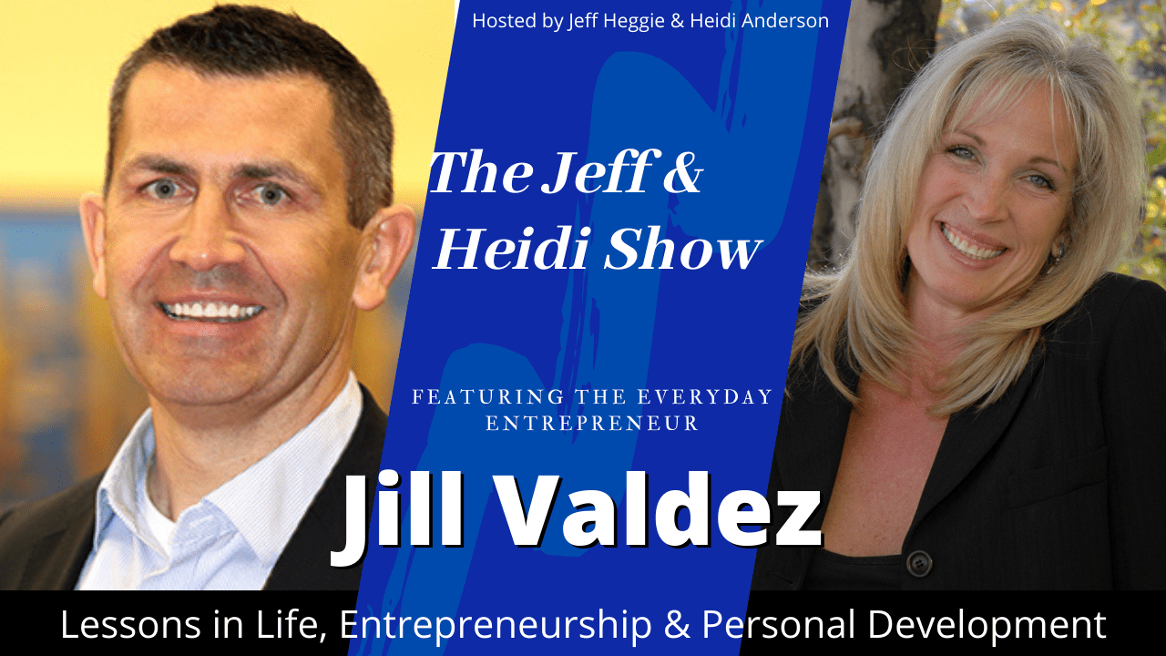 Jill Valdez with Jeff Heggie and Heidi Anderson