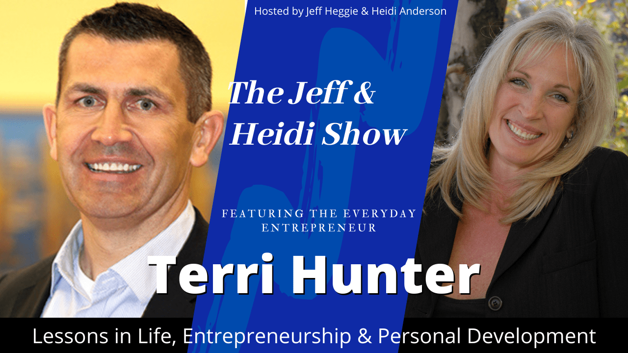 Terri Hunter on the Jeff & Heidi Show podcast