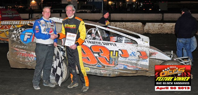 """""""The Jeffer"""" captures OCFS Modified win #47 aboard the Hollywood Racing #93H."""
