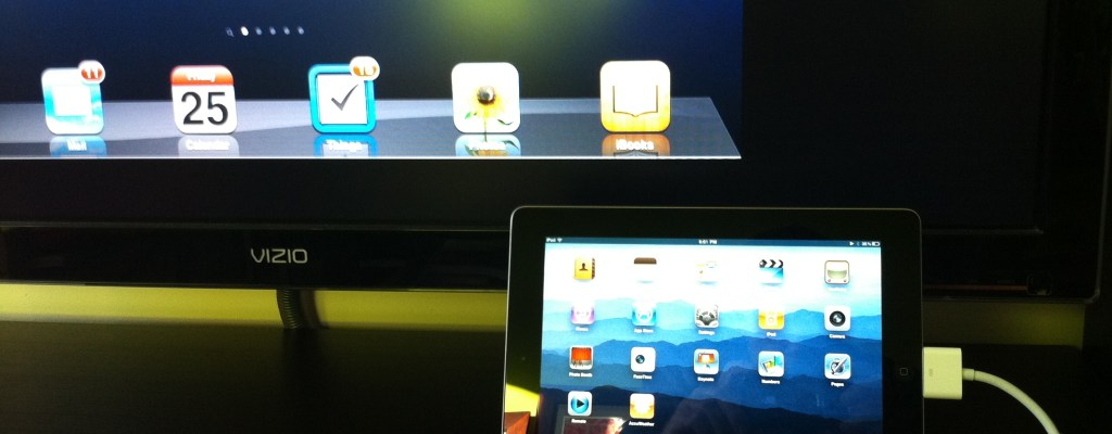 Mirroring iPad 2 Video to Your TV