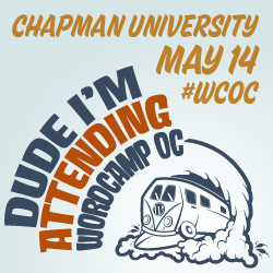 Join Me at WordCamp OC