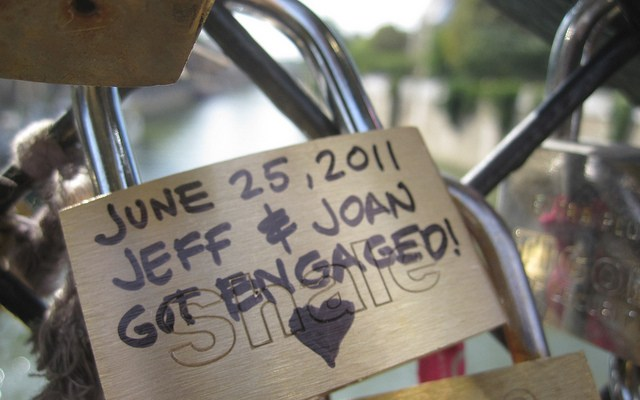 Day 19 in Paris: Love, Locked
