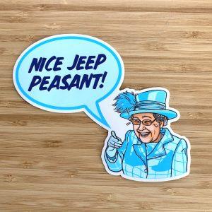 Nice Jeep Peasant