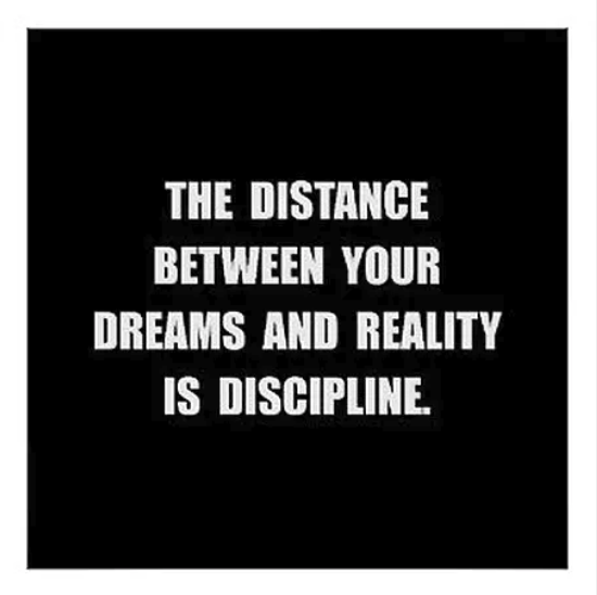 Motivation vs. Discipline