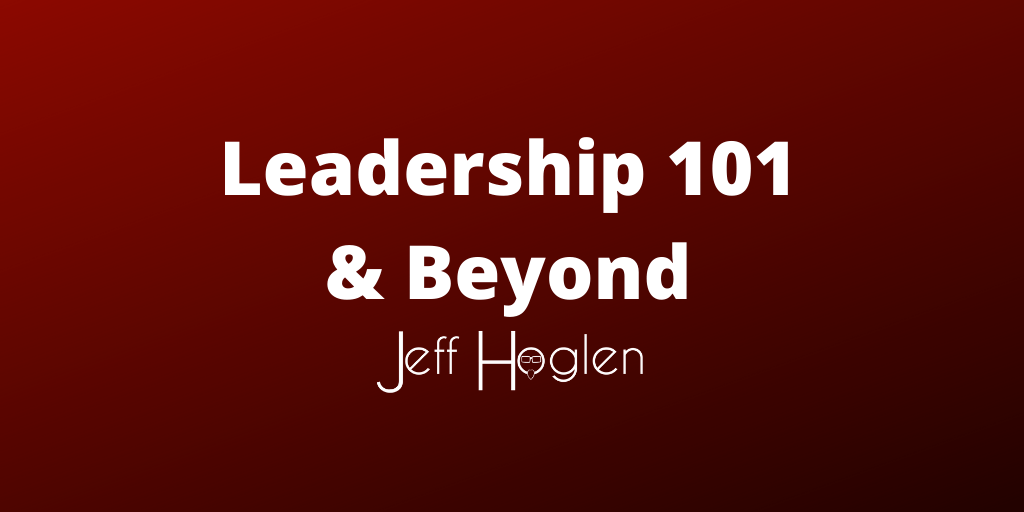 Beyond Leadership 101
