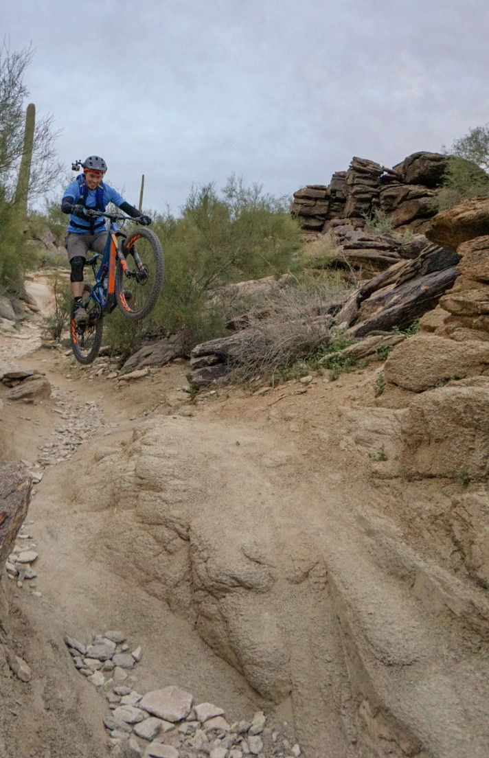 Jeff Kendall-Weed on National Trail in Phoenix Arizona.
