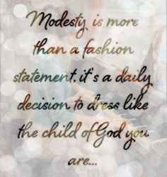Modesty-Fashion