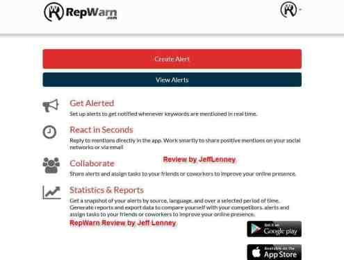 RepWarn Review and Bonus