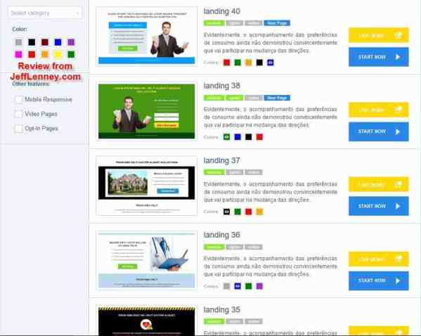 CPA Evolution 2.0 Landing Page Software