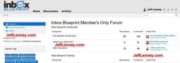 Inbox Blueprint 2.0 Members Forum