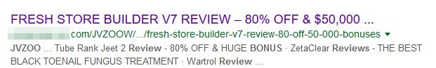 Fake Reviews and Bonuses
