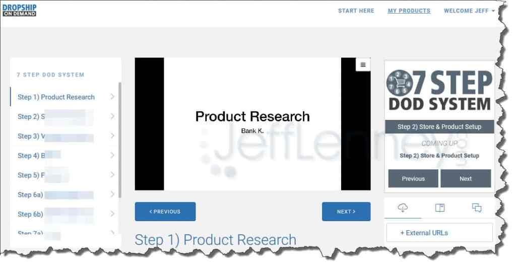 DOD Product Research