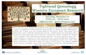 Tightwad Genealogy