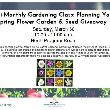 Gardening Program
