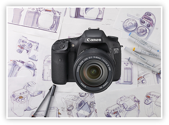 Comparing the Canon 5D Mark II, 7D and 50D