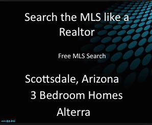 Alterra 3 Bedroom Homes Scottsdale Arizona
