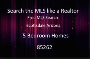 5 Bedroom Homes 85262 Scottsdale Arizona
