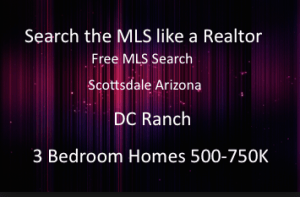 DC Ranch 3 Bedroom Homes 750K