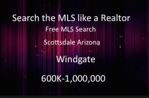 wingate scottsdale arizona homes 600K 750K 1M