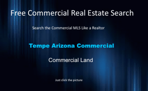 tempe arizona commercial land
