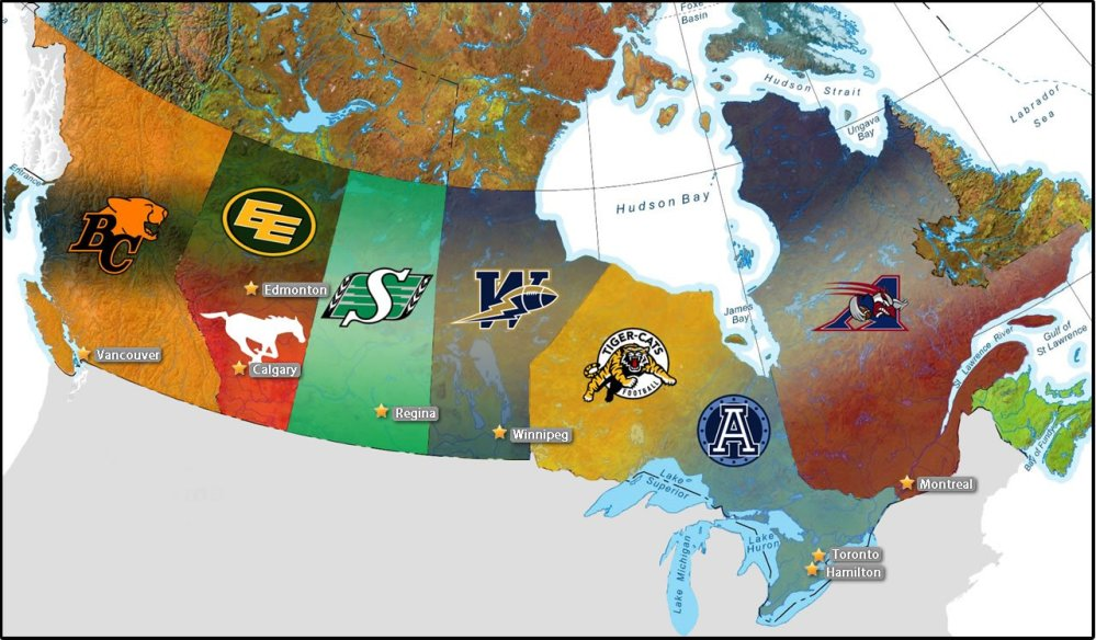 2013 CFL season just getting started.