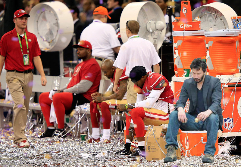 Sad Keanu, 49ers Fan.