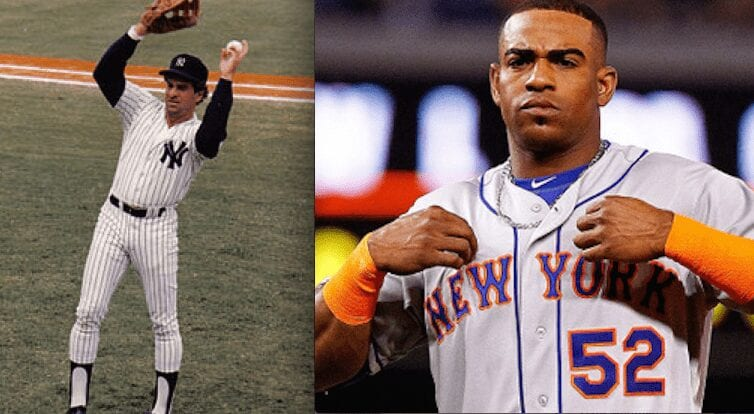 Steve Kemp, left, and Yoenis Cespedes.