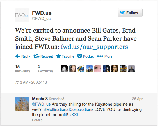 Microsoft's Gates. Ballmer and Smith Join Pro-Drilling Facebook PAC