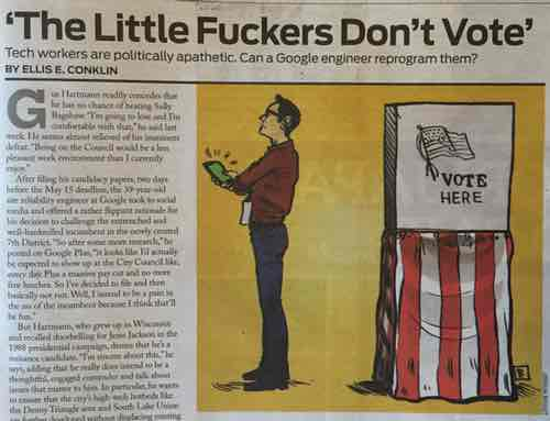 Print Headline Since Censored by Seattle Weekly