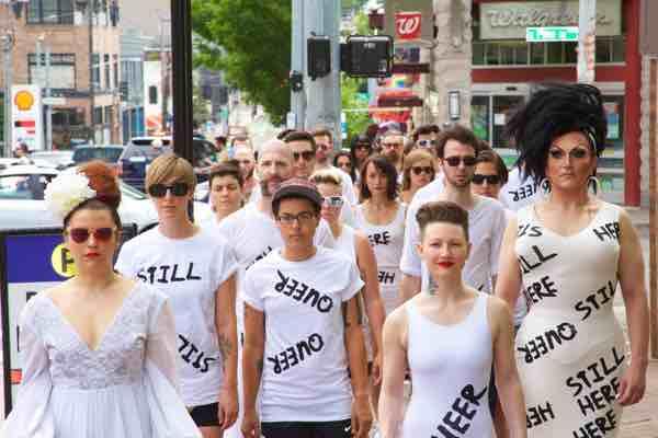 Seattle Pride Protest Organized by Criscitello