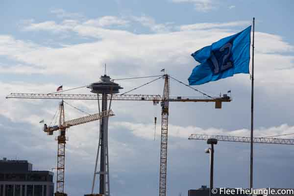 amazon cranes seattle growth