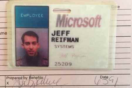 microsoft id card circa 1991
