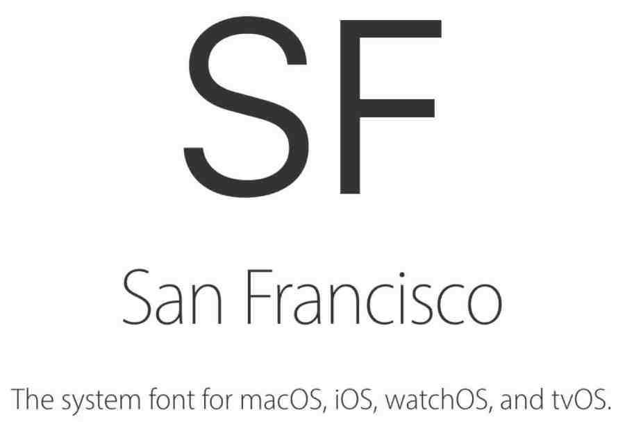 How to Download Apple's San Francisco Font? - Jeff Reifman