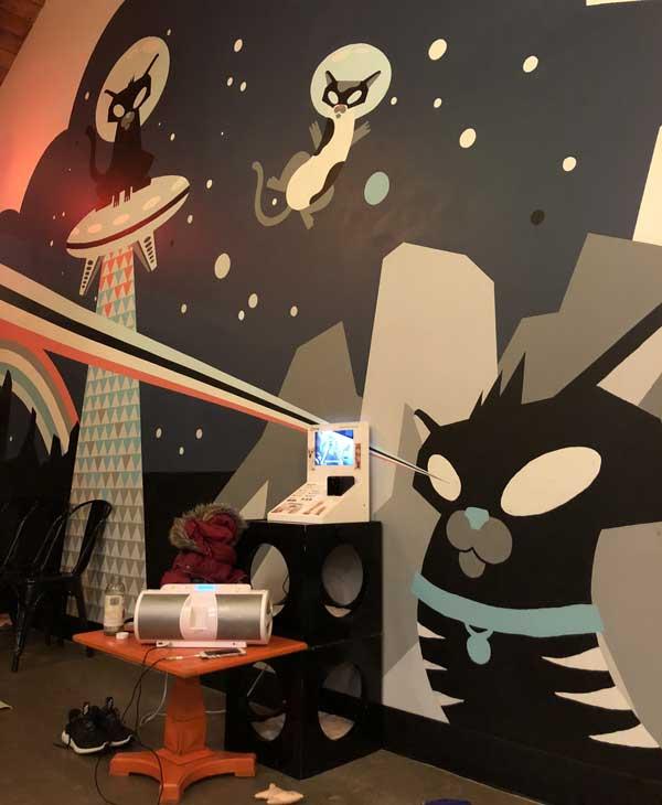 purringtons cat lounge
