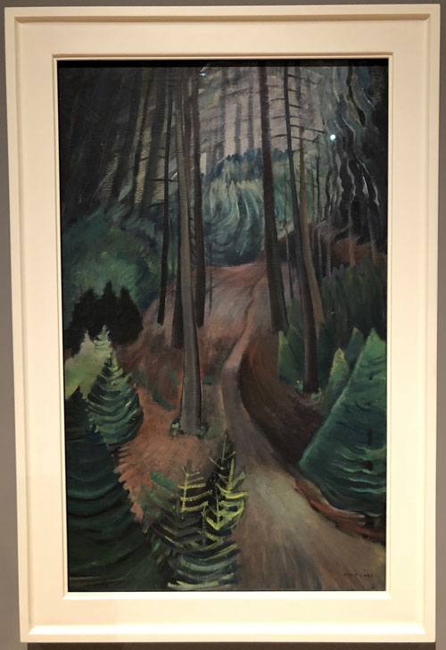 emily carr the path