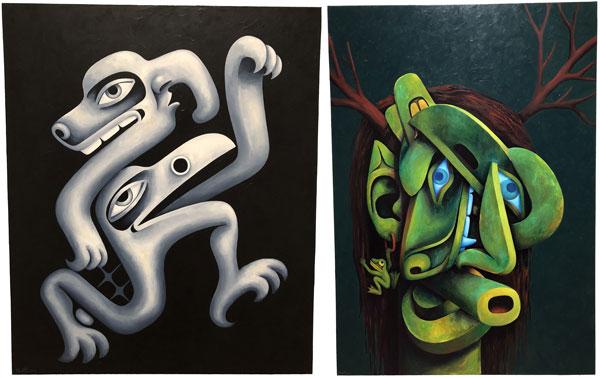 Paintings Shawn Hunt