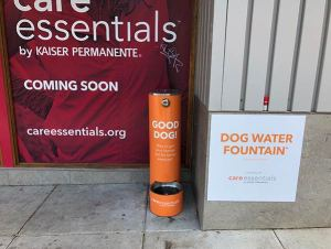 kaiser dog fountain