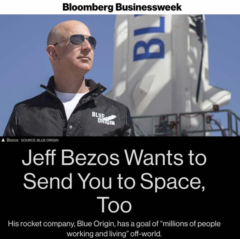 bezos send you to space