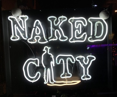 Naked city closes in greenwood