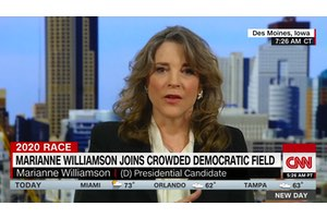 CNN interview with Marianne Williamson