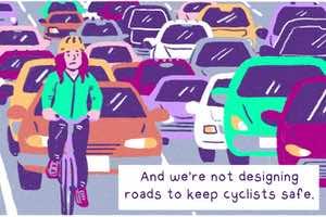 why is biking dangerous