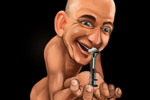 northwest gollum, jeff bezos, space needle