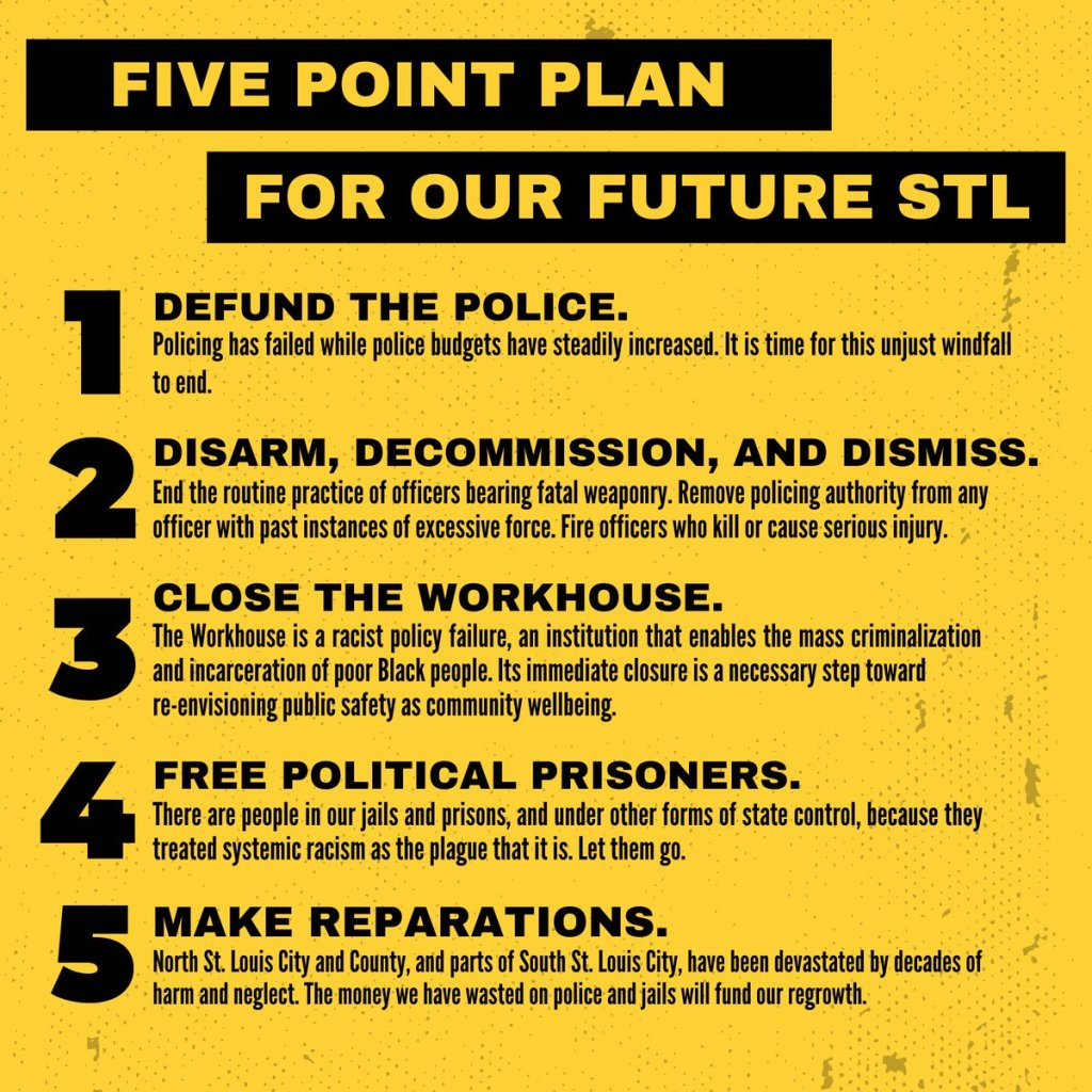 Five-point plan four our future St. Louis