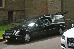 A funeral commenced at 1.30 in the Lady Chapel.