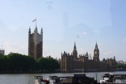 Upon returning to London....