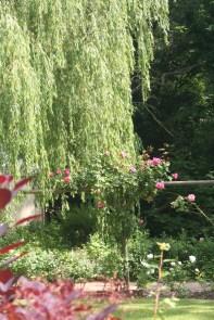 A garden near Shakespeare's birthplace.