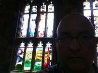 The Howells window at Gloucester Cathedral.