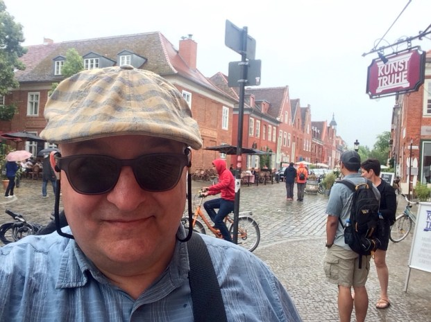 In the Dutch Quarter.
